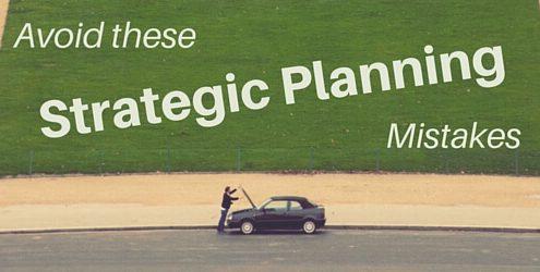 اشتباهات برنامه ریزی استراتژیک