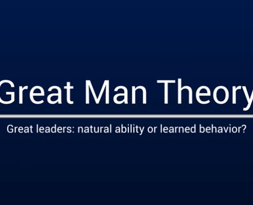 تئوری های مرد بزرگ